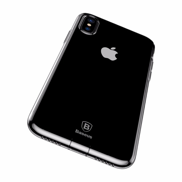 Soft Silicone Case for iPhone X