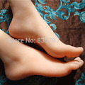 23cm 38#Silicone Female Fake Foot,Inner-Bone Inside,Feet Model,Shoe Model F511