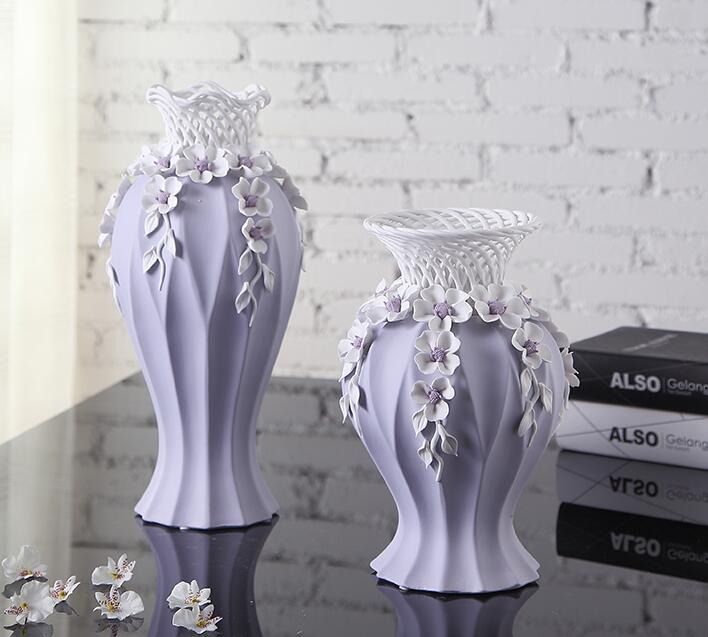 Fresh Mini Ceramic Small Vase Home Decor Gift Ideas And: Purple Creative Ceramic Wedding Flowers Vase Pot Home