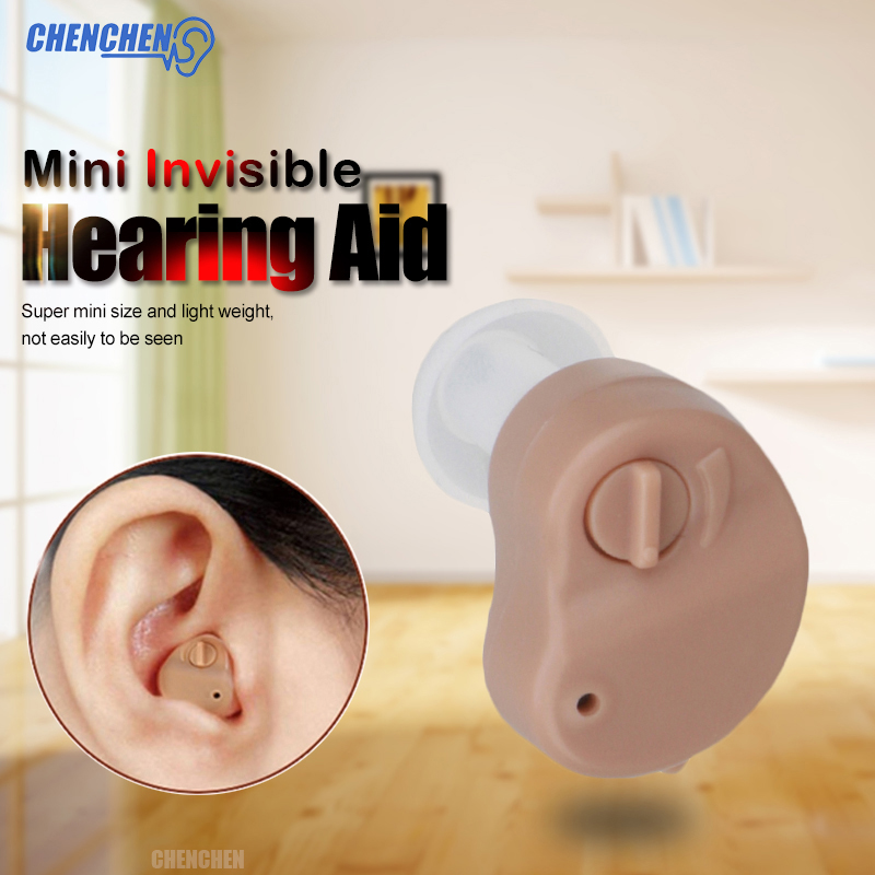 2018 New Mini Hearing Aid Small Portable Device Ear Amplifier Sound Enhancement Micro Invisible Wireless Audiphone Ear Care