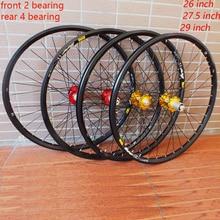цена на MODENG 26'' 29 27.5 32Holes Disc Brake Mountain Bike Wheels Six Holes Centerlock MTB Bicycle Wheels front 2 rear 4 sealed bear