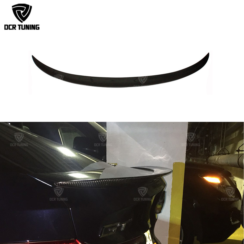 P Style Rear Wing Spoiler For BMW 5 Series GT Gran Turismo F07 Spoiler Carbon Fiber