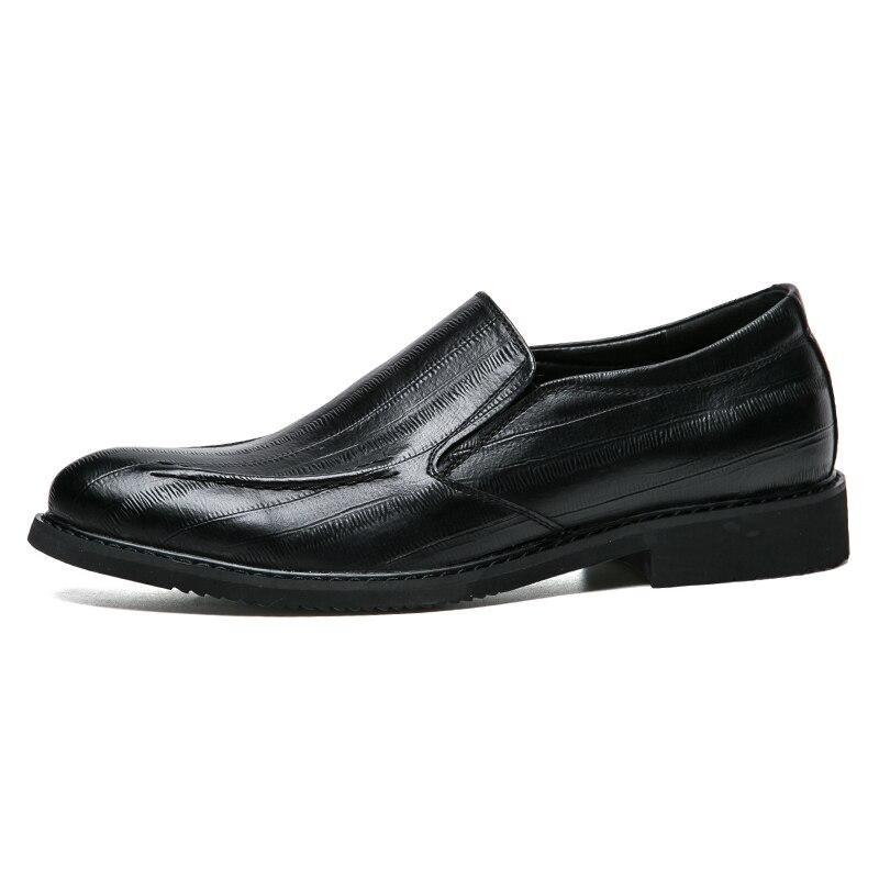 Chaussures En Formelle De brown Sur Conduite Appartements Black Mocassins Confortable Hommes Robe Cuir Italien Classique Mode Slip Décontractée D'affaires Misalwa wxFSIOq0n