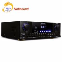 Nobsound PM1000 Professional KTV Караоке Bluetooth усилители домашние Поддержка MP5 USB/SD Play APE музыка 220 В и 110