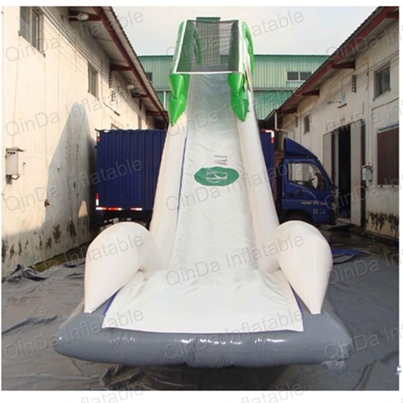 juegos de verano ocano casa flotante inflable de gigante tobogn flotante yate