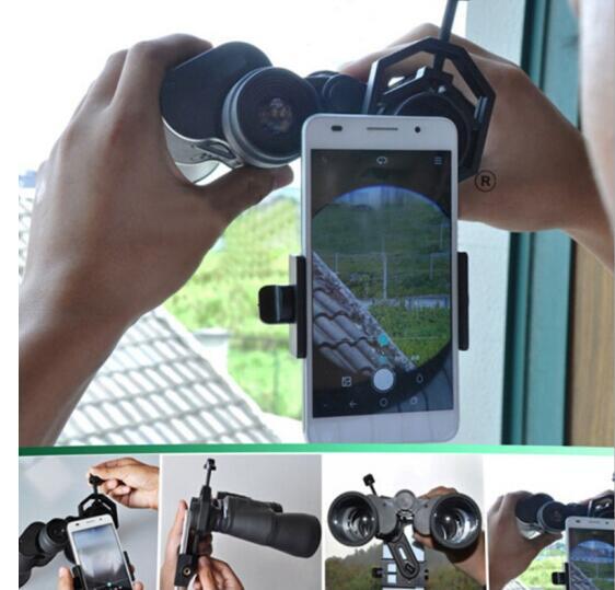 Universal Adapter Mount Binocular Monocular Telescope Phone Support Eyepiece D 25 48mm for Telescope Spotting Scope in Monocular Binoculars from Sports Entertainment