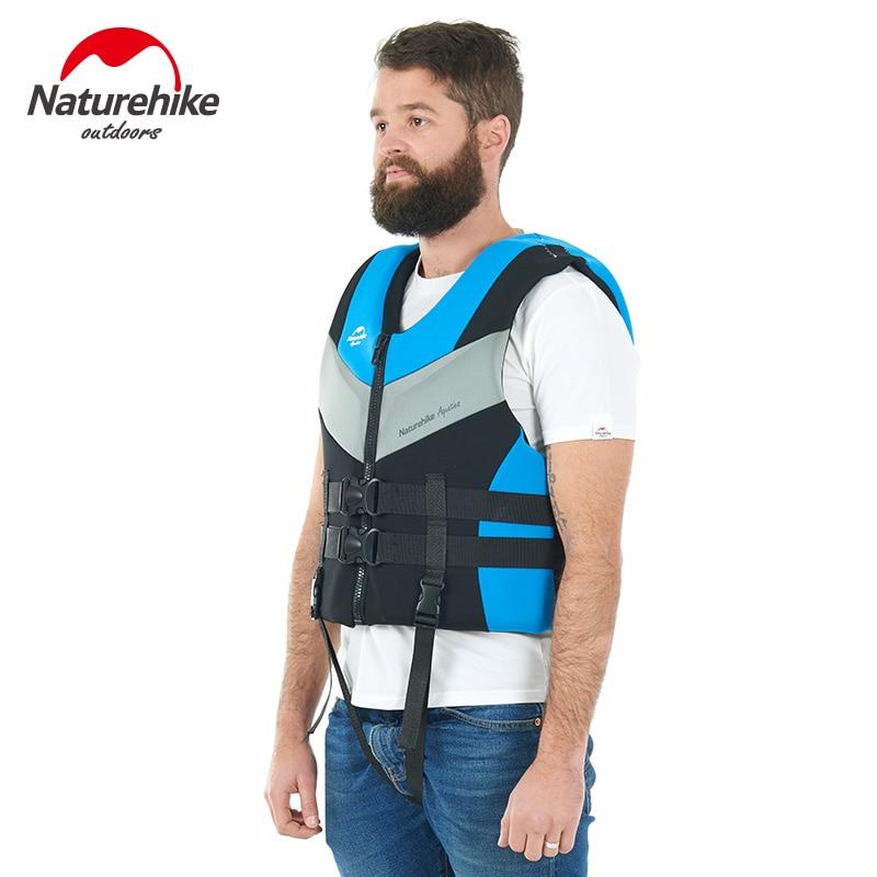 Naturehike Factory Sell 2018 New Safety buoyancy vest adult snorkeling swimming equipment men women portable vest non life vest