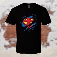 Christian T-Shirt Jesus Super Hero S-4XL