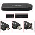 2016 Tudo em 1 USB 2.0 Leitor de Cartão de Memória de Alta Velocidade multi-função de adaptador de cartão de memória para sd tf micro usb masculino varejo pacote