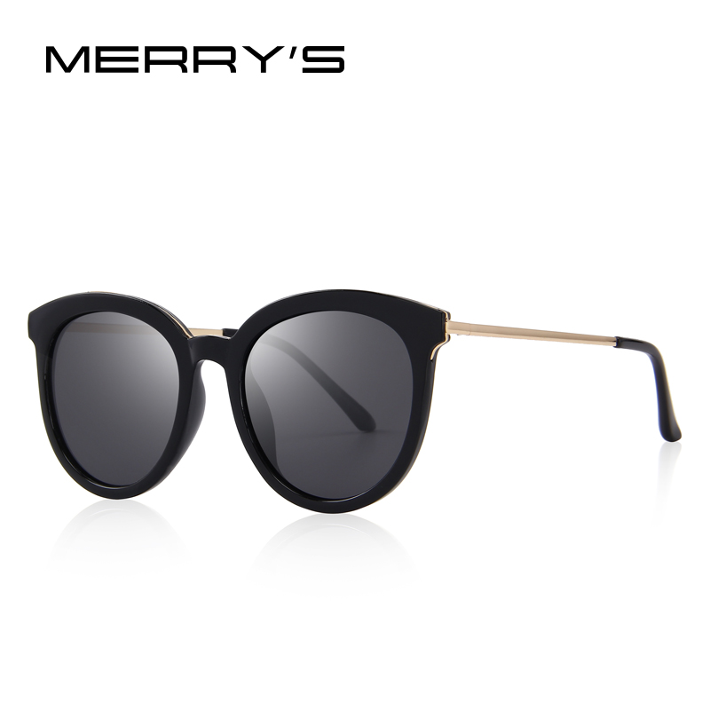 a07e1fe65c MERRY S Women Brand Designer Cat Eye Polarized Sunglasses 100% UV Protection  S 6152-in Sunglasses from Apparel Accessories on Aliexpress.com