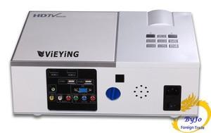 Image 3 - ViEYiNG LED chiếu HD 1920x1080 rạp hát tại Nhà máy chiếu 3D chiếu LCD Proyector Full HD projetor Pk led96 bt96 m5 Máy Chiếu
