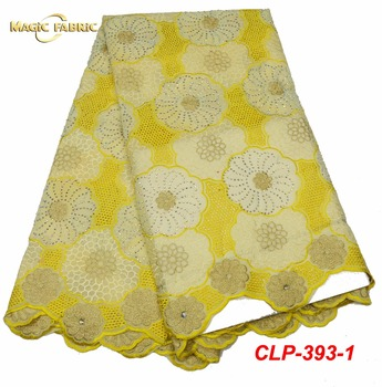New High Quality Swiss Voile Lace 2018 African Voile Swiss Lace Fabric African Swiss Cotton Voile Lace Fabric  CLP-393