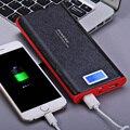 PNW-920 Original PINENG 20000 mAh de Carregamento Duplo USB Carregador de Bateria Externo Portátil Power Bank com Lanterna para o Telefone Móvel