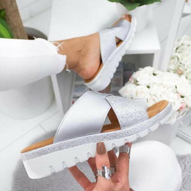 Juanete Artificial Zapatos Sandalias Las Ortopédicos Pu Mujeres Dxbcore wk8nN0PXO