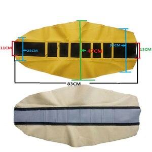 Image 4 - Housse de siège en cuir souple, poignée en caoutchouc, pour YAMAHA HONDA SUZUKI DUCATI KTM SX SXF XC XCF tout terrain, coussin