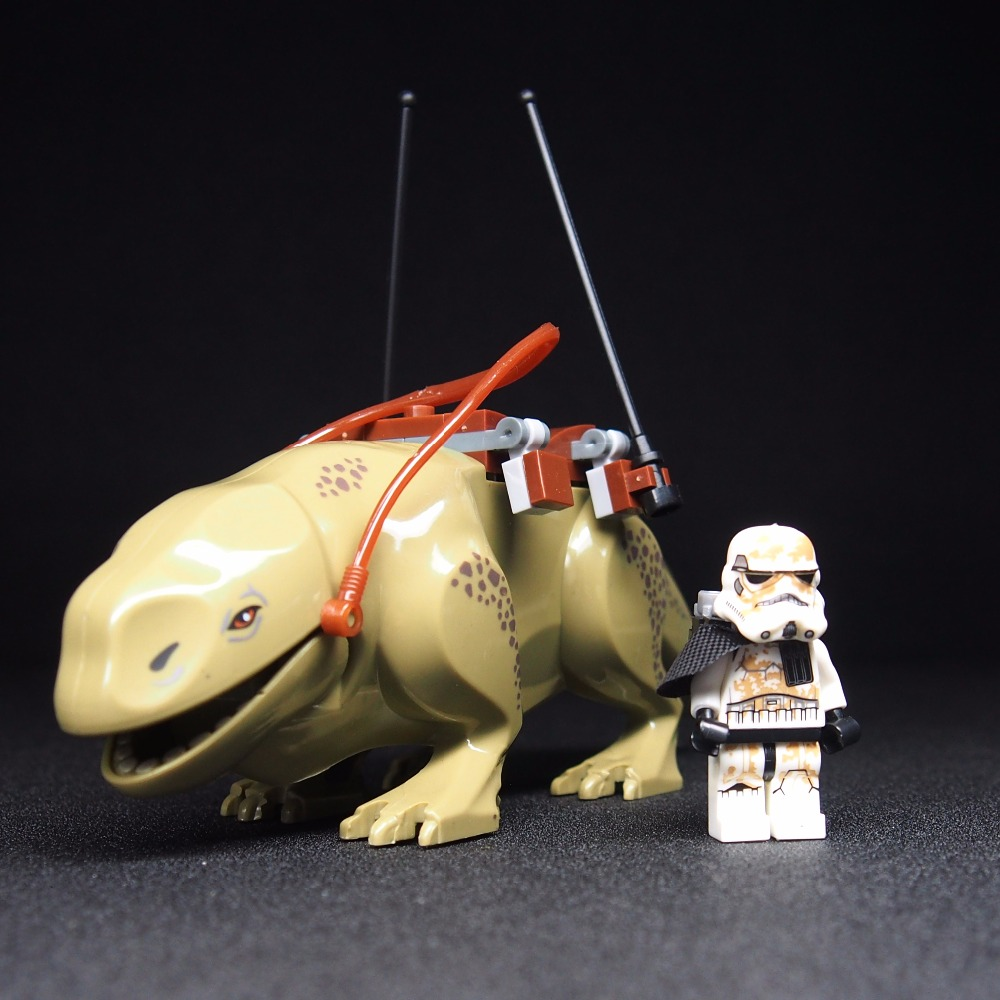 Star Wars 7 Dewback Desert Storm soldiers troopers Building Blocks toys Kids Action Figure gift 5pcs moc star wars mini soldiers clone troopers action figure rogue one building blocks minifig kids toys not include minifig