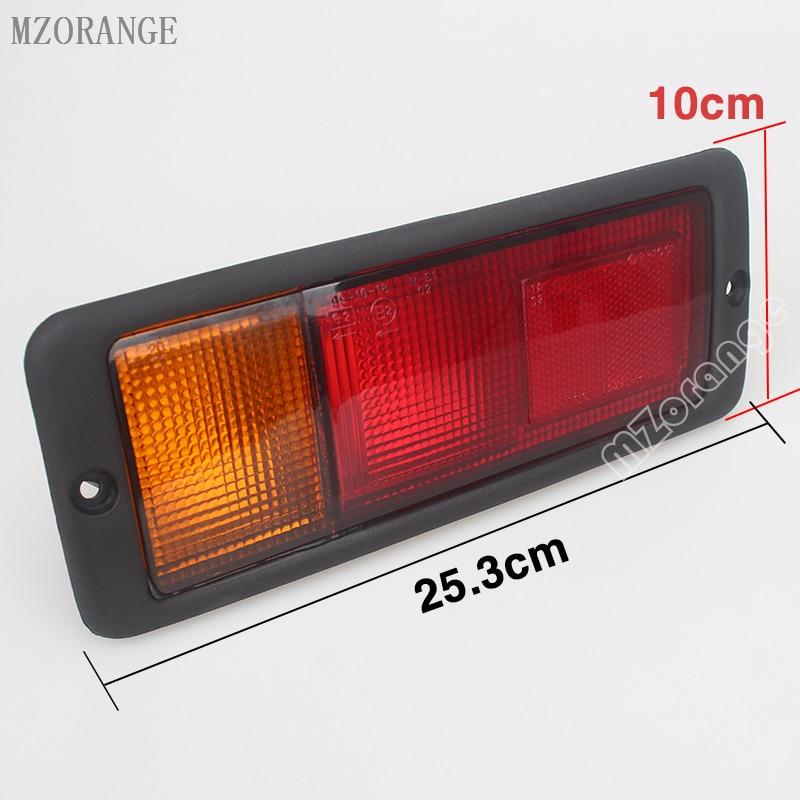 MZORANGE 2pcs Left & Right Rear Tail Light Lamp MB124963 MB124964 214-1946L-UE 214-1946R-UE Fit for Mitsubishi Pajero Montero