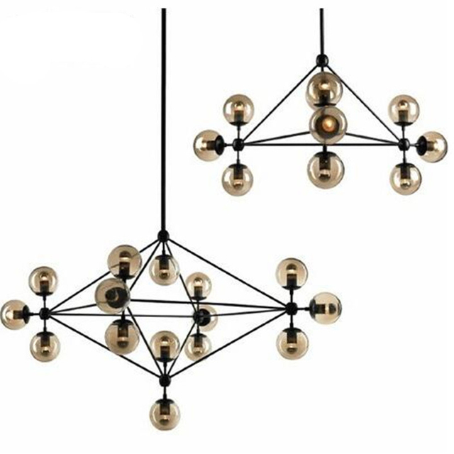 Retro loft vintage magische bohne plafondlampen lampe woonkamer bar ...
