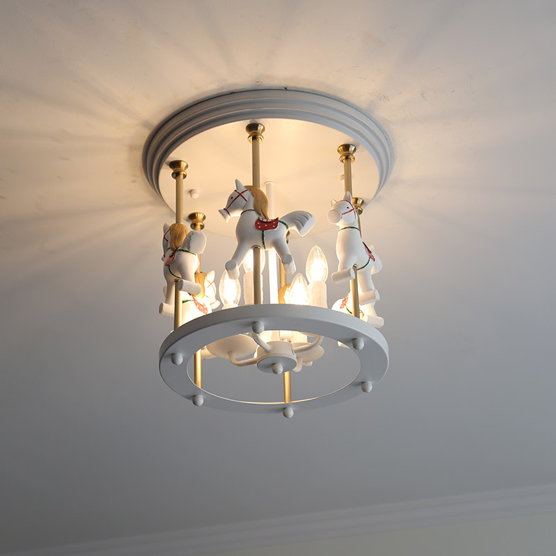 Lights & Lighting Devoted Creative Personality Ceiling Lamp Boy Girl Bedroom Princess Room Childrens Room Lamp Lovely Cartoon Balloon Led Ceiling Lamp Ceiling Lights & Fans