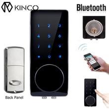 Smart Digital Bluetooth Door Lock Home Security Lock Remote Control Smart Home Keyless Touch Password Deadbolt
