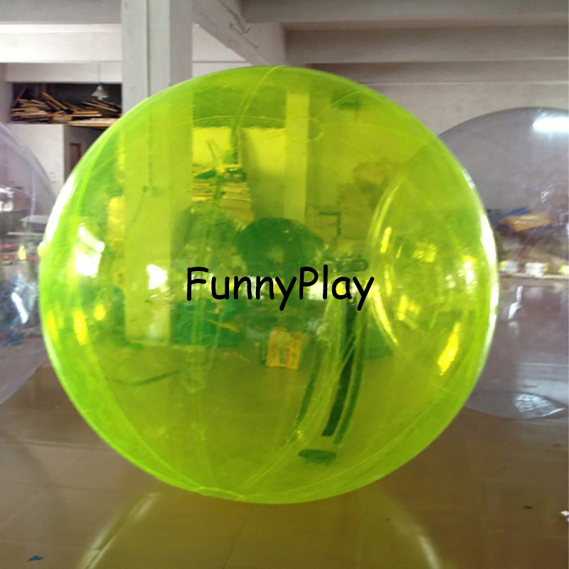 2M blau Wasser zu fuß Ball, Aufblasbare Wasser auf Ball, klar Spaziergang auf Wasser Luftballons Zorbing Huma festival tanzen bälle für zeigen - 3