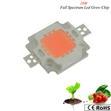 10w led grow light chip ,full spectrum 380nm-840nm led grow light  hydroponics plant /greenhouse/indoor garden plant