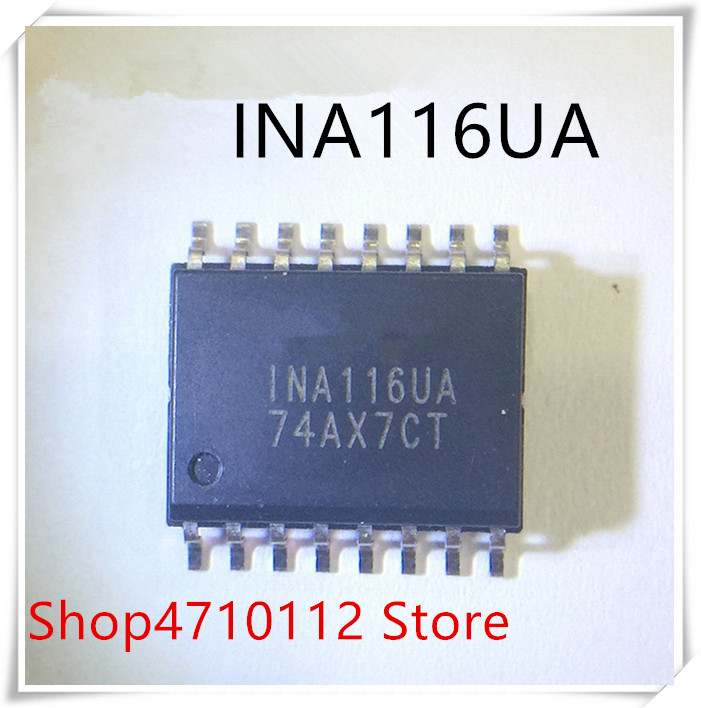 NEW 10PCS/LOT INA116UA INA116U INA116 SOIC-16 IC
