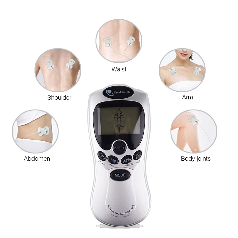 Health Care Digital Therapy Massager/ Slimming Instrument Cervical Vertebra Full Body Electronic Physiotherapy Massage Machine multifunctional health care product electronic lcd body massage therapy machine with foot slipper massager massagem
