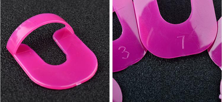 Anti-éclaboussures Couverture de Doigt Courbe Forme pour vernis à Ongles Protecteur, imychic