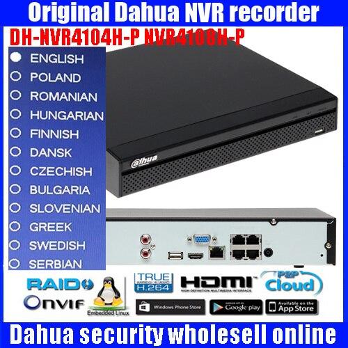 DAHUA NVR4104H-P 4 Channel Mini 1U 4PoE Network Video Recorder