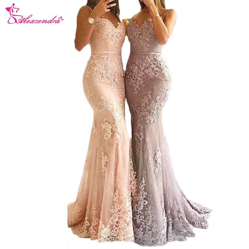 Alexzendra Lace Mermaid   Prom     Dresses   Sweetheart Long Formal Evening Gown Custom Made Party   Dress   Plus Size