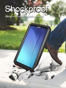 Image 4 - Samsung Galaxy S10 Artı Durumda AŞK MEI Şok Kir Geçirmez Su Geçirmez Metal Zırh Kapak Telefon Samsung kılıfı Galaxy S10e