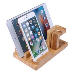 3 w 1 stacja dokująca z drewna bambusa uchwyt ładowania stacja dokująca do uchwyt na telefon wspornik stojakowy do zegarka Apple Watch iPhone iPad w Uchwyty i podstawki do telefonów komórkowych od Telefony komórkowe i telekomunikacja na