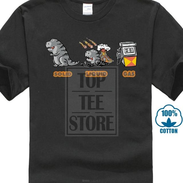 f8f94717 Solid Liquid Gas Dinosaur Petroleum Volcano Asteroid T Shirt-in T ...