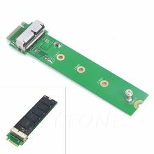Adaptador ngff m.2 x4 para apple macbook, placa adaptadora para 2013 2014 2015 para apple a1465 a1466 ssd c26, 1 peça