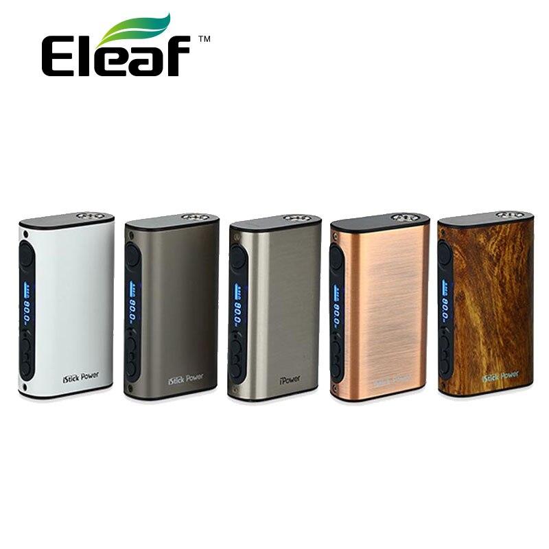 D'ORIGINE Eleaf iPower 80 W 5000 mah vs istick Puissance Nano Mod 40 W 1100 mAh Batterie Cigarette Électronique Mod costume Melo 3/Nano Réservoir