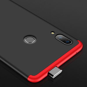 Image 3 - 360 מלא עמיד הלם מקרה עבור Huawei P חכם Z מקרה 3 ב 1 קשיח מחשב כיסוי מקרה עבור Huawei P חכם Z SmartZ PSmartZ STK LX1 קאפה