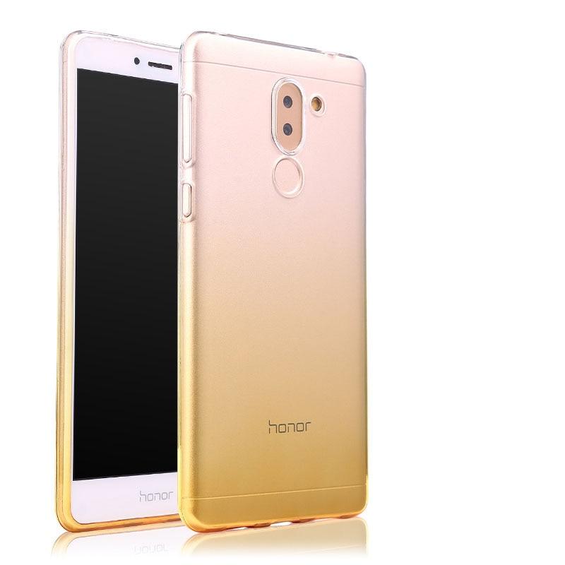 Huawei Honor 6x դեպքում թափանցիկ փափուկ - Բջջային հեռախոսի պարագաներ և պահեստամասեր - Լուսանկար 3