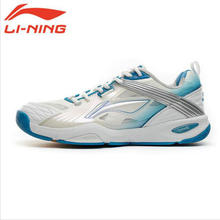 LiNing Original Brand Men Badminton Breathable Thick Soled Tennis Shoes Male Wear-Resistant Plus Size Platform Sneakers AYAF007
