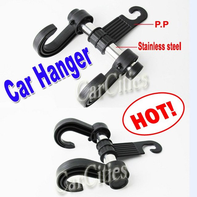 Multi-purpose car hook,car Hanger bags organizer accessories holder clothes/bag hanging holder,Size:17*11cm,drop shipping