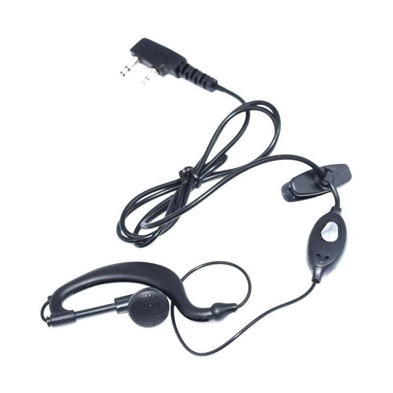 2pcs Baofeng Headset For BaoFeng UV-5R/ UV-5RE /BaoFeng888S/ BaoFeng777S Mic Earphone Walkie Talkie CB Radio Accessories Headset