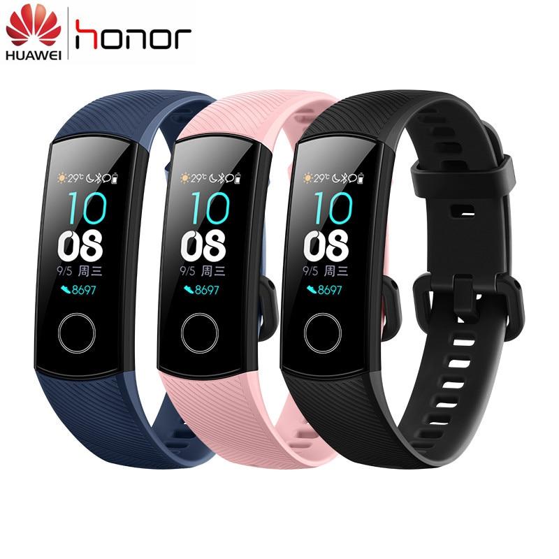 100% Originale Huawei Honor Fascia 4 Intelligente Wristband Amoled di Colore 0.95