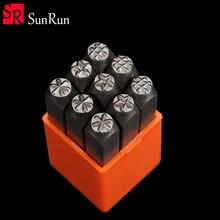 Стальной штамп с номером, металлический штамп 3 мм, 4 мм, 5 мм, 6 мм, 8 мм, тисненый штамп с буквами и символами