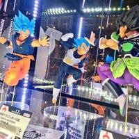 Tronzo Original Banpresto Dragon Ball Figures Broly Goku Vegeta Gogeta PVC Action Figure Toys Super Saiyan Figurines in Stock