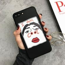Funny Cool Phone Case iPhone  5 5s 6 6S Plus 7 8 Plus X