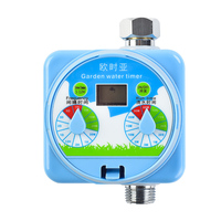 Rain Sensor LCD Display Knob Style Water Timer Automatic Watering Timer Electronic Garden Irrigation Controller Manufacturer