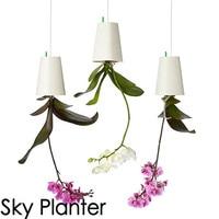 Nowe Niebo Plantator Ogród Doniczka Typu Powietrze Do Góry Nogami Plastikowe Nowoczesne Kreatywny Wiszące Doniczki Wiszące Roślin Zielonych