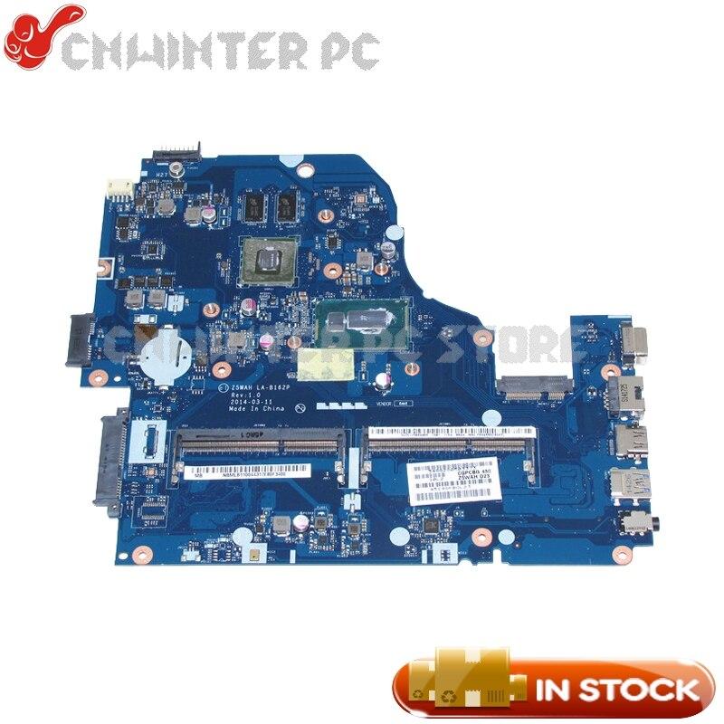 NOKOTION Z5WAH LA-B162P REV 1.0 NBMLB11004 NB.MLB11.004 For Acer aspire E5-571G Laptop Motherboard i5-4210U GT820M DDR3L nbml811002 z5wah la b161p for acer aspire e5 571p e5 571 mainboard laptop motherboard i3 4030u ddr3l hd graphics