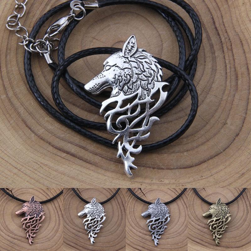Yage 4Colors 1pcs rune viking canavar boyunbağı hədiyyə - Moda zərgərlik - Fotoqrafiya 2
