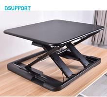 New Ultra thin EasyUp Height Adjustable Sit Stand Desk Riser Foldable Laptop Desk Stand Notebook/Monitor Holder Stand LD04